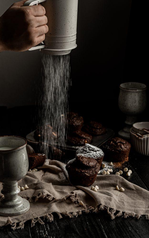 Muffins triple chocolat