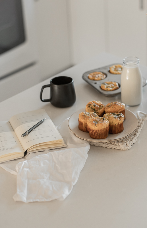 Quiches Muffins aux épinards & cheddar fort
