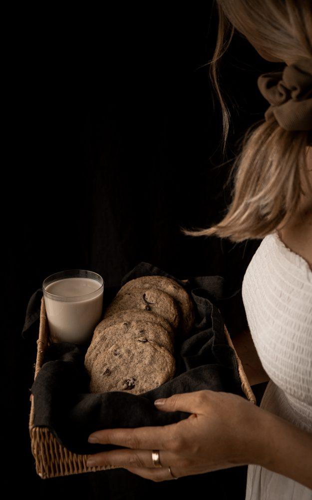 Biscuits à l'espresso & chocolat