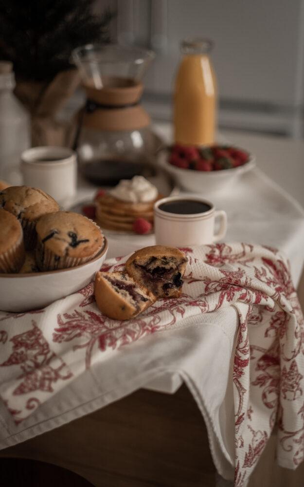 Muffins au yogourt & explosion de fruits