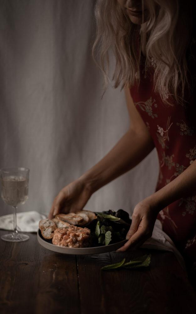 Tartare de saumon